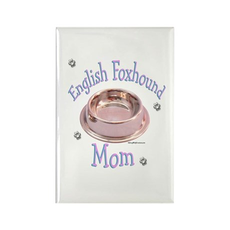 Foxhound Mom Rectangle Magnet