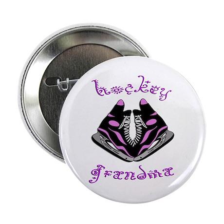 Hockey Grandma (skates) Button
