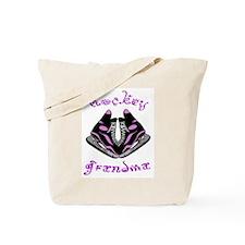 Hockey Grandma (skates) Tote Bag