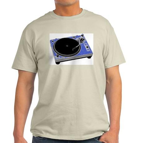Turntable Ash Grey T-Shirt