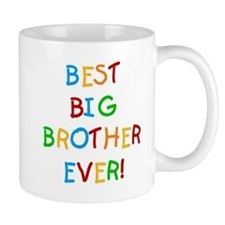 Best Big Brother Ever Small Mugs