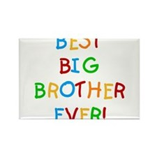 Best Big Brother Ever Rectangle Magnet