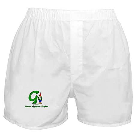 Human G Gnome Project Boxer Shorts
