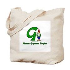 Human G Gnome Project Tote Bag