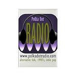 3-radio1000words Magnets