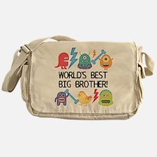 Monsters World's Best Big Brother Messenger Bag
