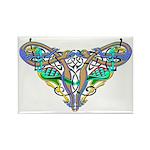 Celtic Artwork Rectangle Magnet (10 pack)