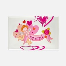 My Angel Valentine Rectangle Magnet