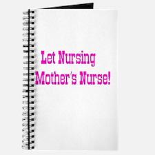 Let Nursing Mothers Nurse Journal