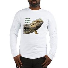 Proud Beardie Lover Long Sleeve T-Shirt