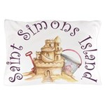 Saint Simons Island Pillow Case