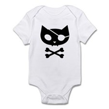 Pirate Kitty Infant Bodysuit