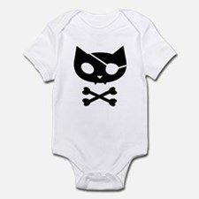 Pirate Kitty Infant Bodysuit