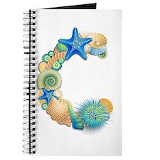 BEACH THEME INITIAL C Journal