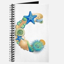 BEACH THEME INITIAL C Journal