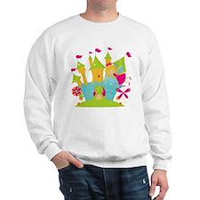 Blond Frog Princess Sweatshirt
