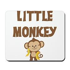 Boy Little Monkey Mousepad