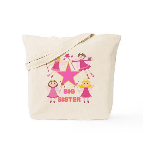 Fairy Princesses Big Sister Tote Bag