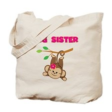 Swinging Monkey Big Sister Tote Bag
