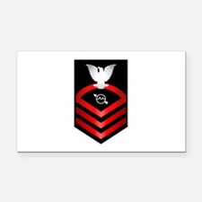 Navy Chief Operations Specialist Rectangle Car Mag
