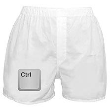 Ctrl Computer Key Boxer Shorts