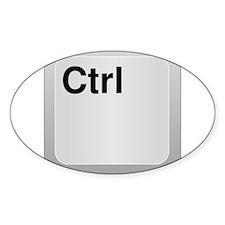 Ctrl Computer Key Decal