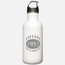 1953 Birthday Vintage Water Bottle