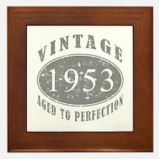 1953 Birthday Vintage Framed Tile