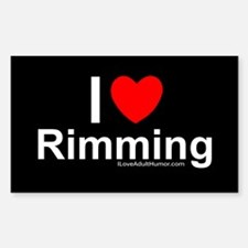 Rimming Sticker (Rectangle)