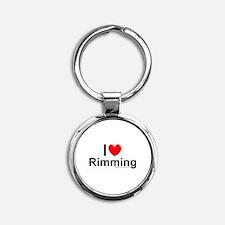 Rimming Round Keychain