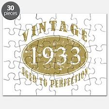 1933 Birthday Vintage Puzzle