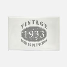1933 Birthday Vintage Rectangle Magnet