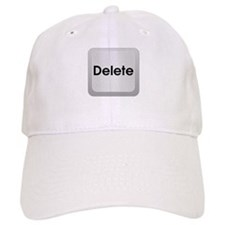Delete Button Computer Key Baseball Baseball Cap