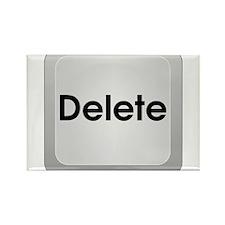 Delete Button Computer Key Rectangle Magnet