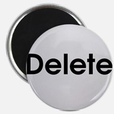"Delete Button Computer Key 2.25"" Magnet (100 pack)"