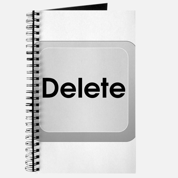 Delete Button Computer Key Journal