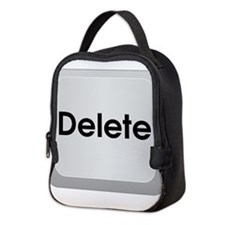 Delete Button Computer Key Neoprene Lunch Bag