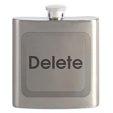 Delete Button Computer Key Flask