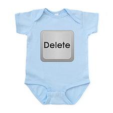Delete Button Computer Key Body Suit