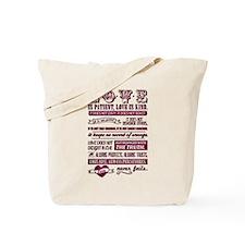 Corinthians Verse Tote Bag