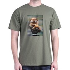 Dining Otter T-Shirt
