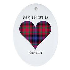 Heart - Bonnar Ornament (Oval)