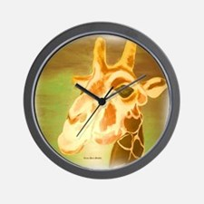 Henri The Giraffe Wall Clock