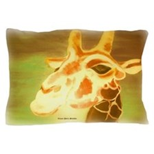 Henri The Giraffe Pillow Case