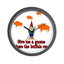 Give me a Gnome Where The Buf Wall Clock