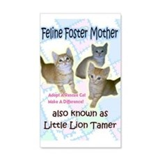 Feline Foster Mother Wall Decal