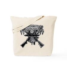 American Militia Tote Bag