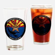 Militia Logo Drinking Glass
