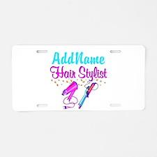 STUNNING STYLIST Aluminum License Plate