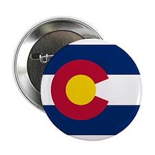 "Colorado Flag 2.25"" Button (10 pack)"